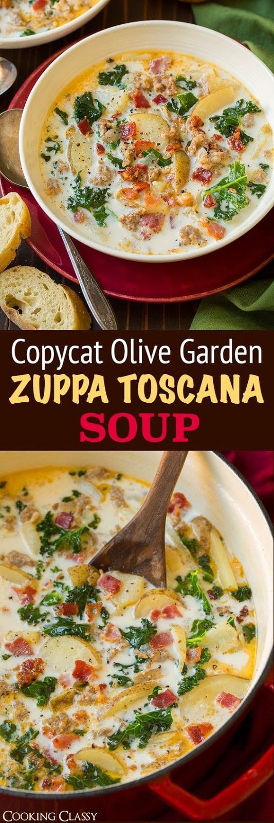 Zuppa Toscana Soup (Olive Garden Copycat) – Cucina de Yung